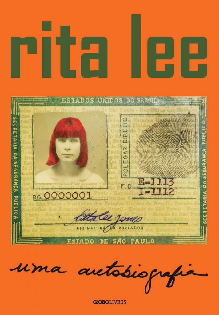 Capa da autobiografia da cantora e compositora Rita Lee