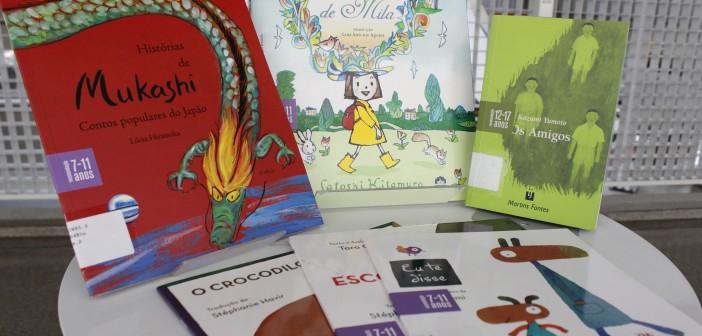 BVL recebe doação de livros em japonês