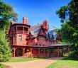 Mark Twain House in Hartford, Connecticut.